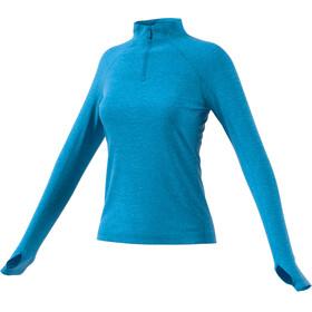 adidas TERREX Trace Rocker Koszulka do biegania z długim rękawem Kobiety niebieski